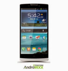 Hp Android Dibawah 1 juta layar lebar Pixcom Andromixx